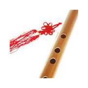 Bambusová flétna s membránou lazená v G